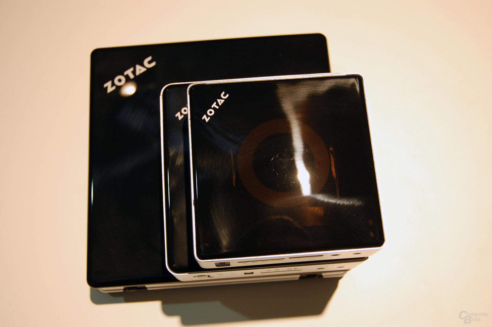 Neue ZBox im Verlgeich zur Zbox nano und Zbox