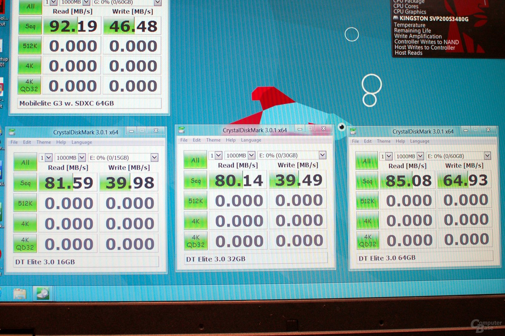 CrystalDiskMark Kingston DataTraveler Elite 3.0