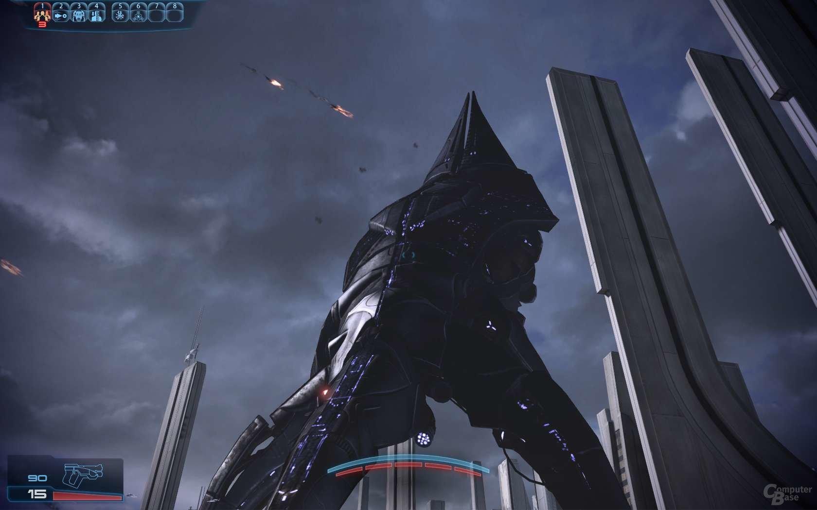 Reaper-Invasion auf der Erde