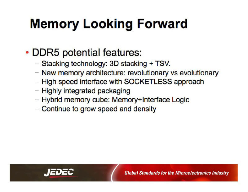 DDR5-Speicher in ferner Zukunft