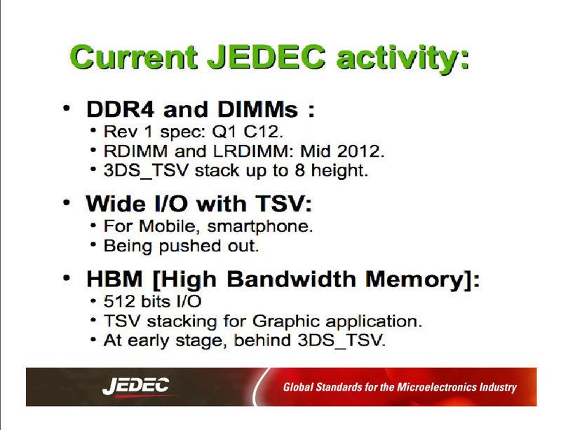 Aktuelle Vorbereitungen für DDR4