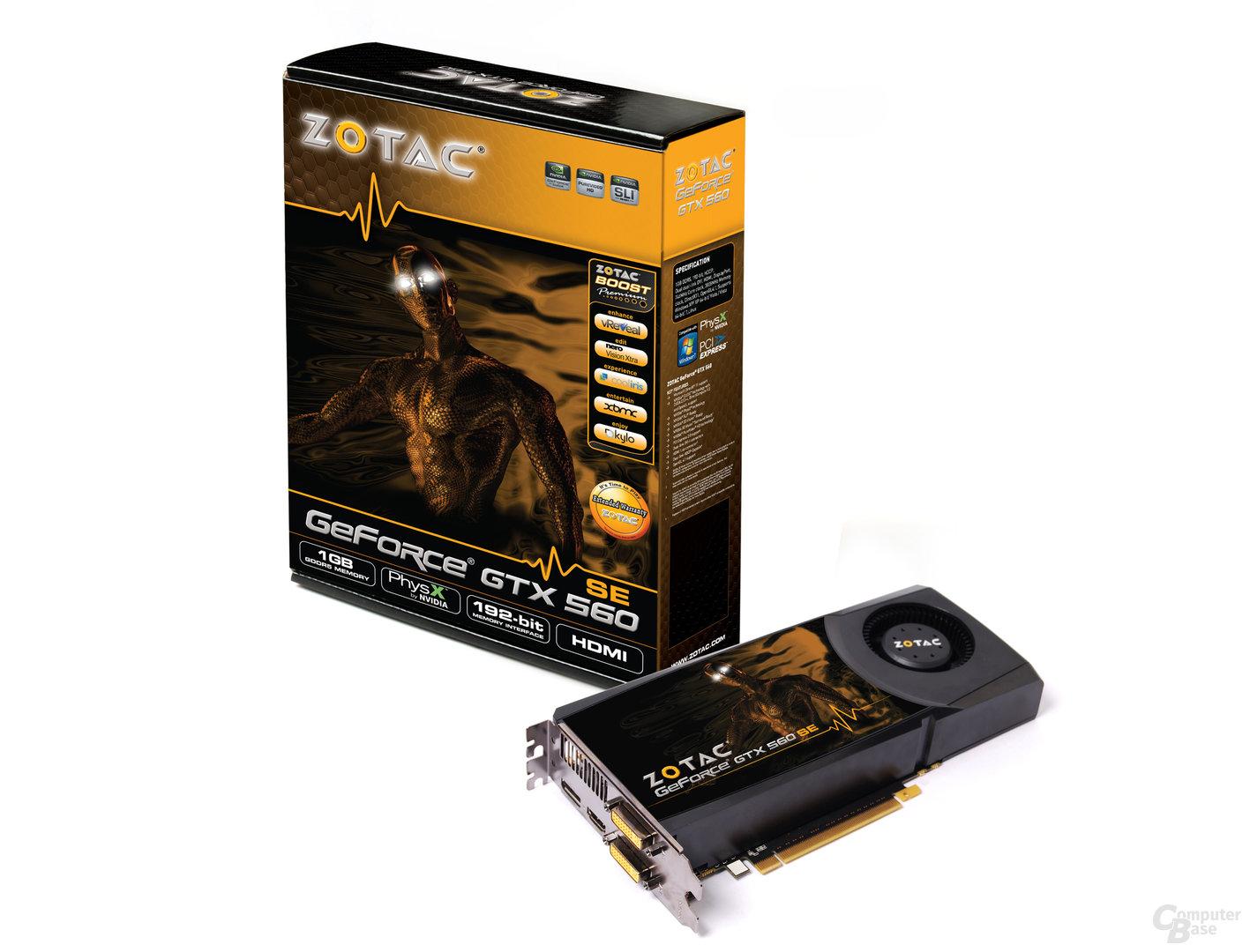Zotac GeForce GTX 560 SE