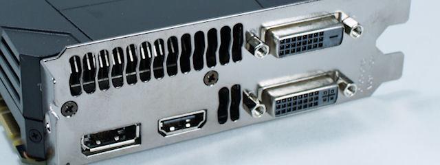 Anschlüsse der Nvidia GeForce GTX 680 | Quelle: hkepc.com