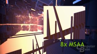 TXAA-Demo – 8xMSAA