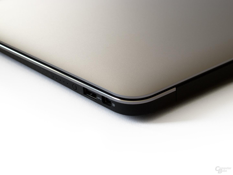 Dell XPS 13: Anschlüsse rechts