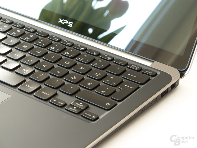 Dell XPS 13: Tastatur