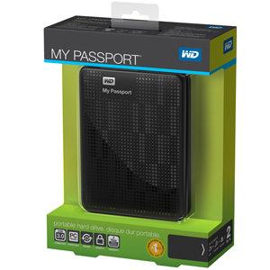 Western Digital My Passport mit bis zu 2 TB