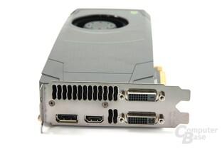 GeForce GTX 680 Slotblech