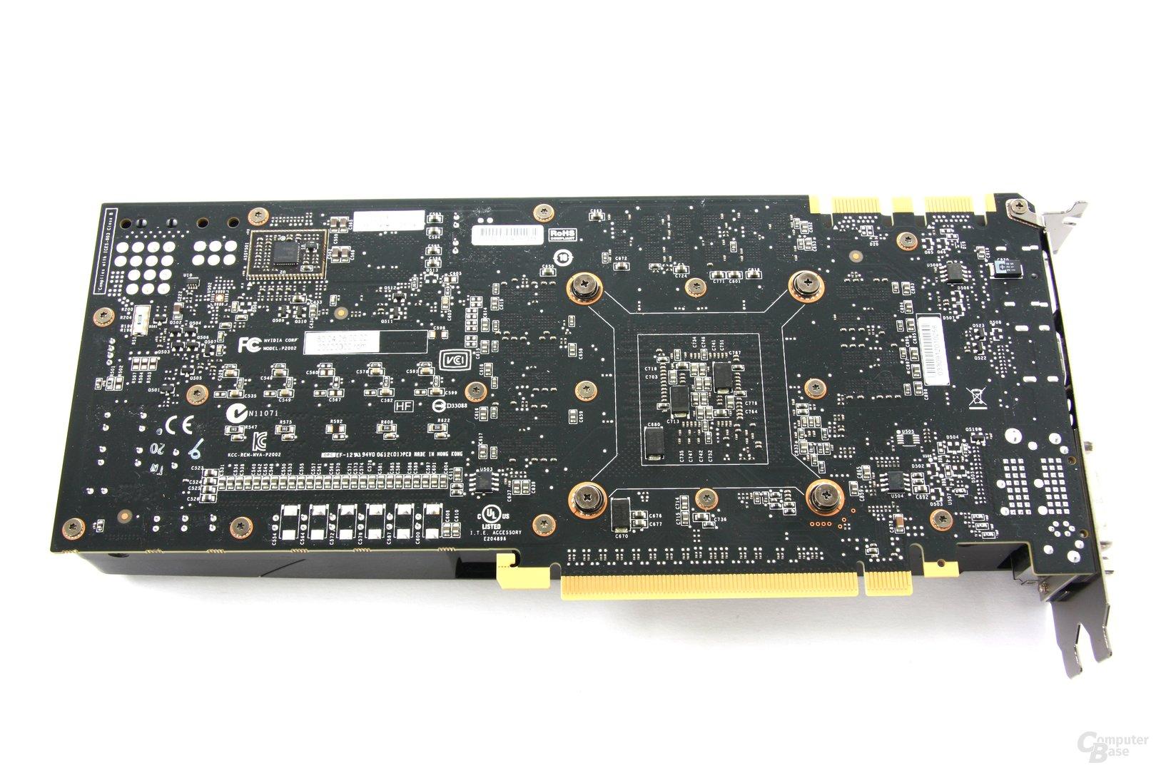 GeForce GTX 680 Rückseite