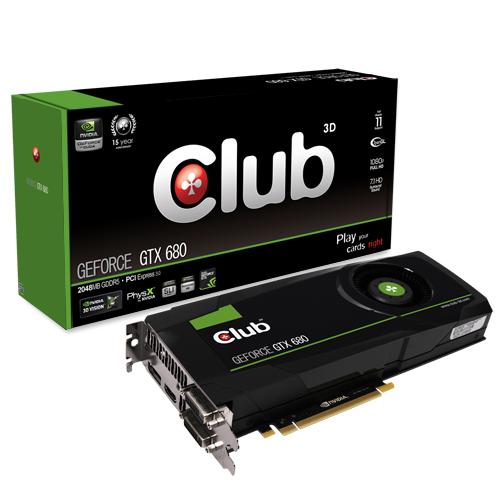 Club 3D GeForce GTX 680