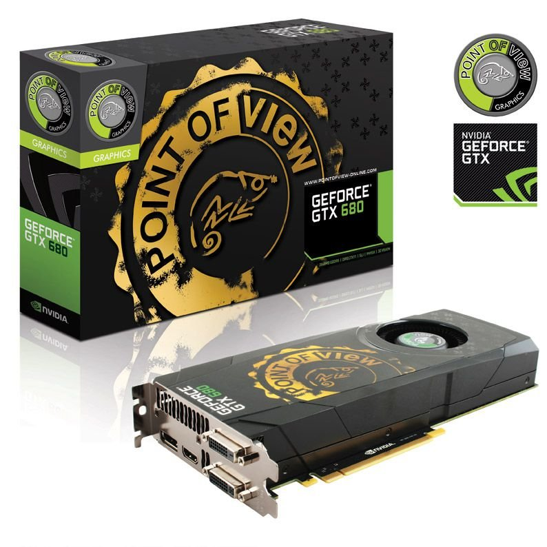 Point of View GeForce GTX 680