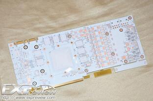 PCB der Galaxy GTX 680 HOF