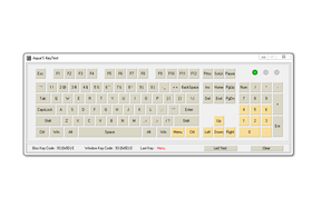 Die gelb markierten Tasten können simultan korrekt registriert werden