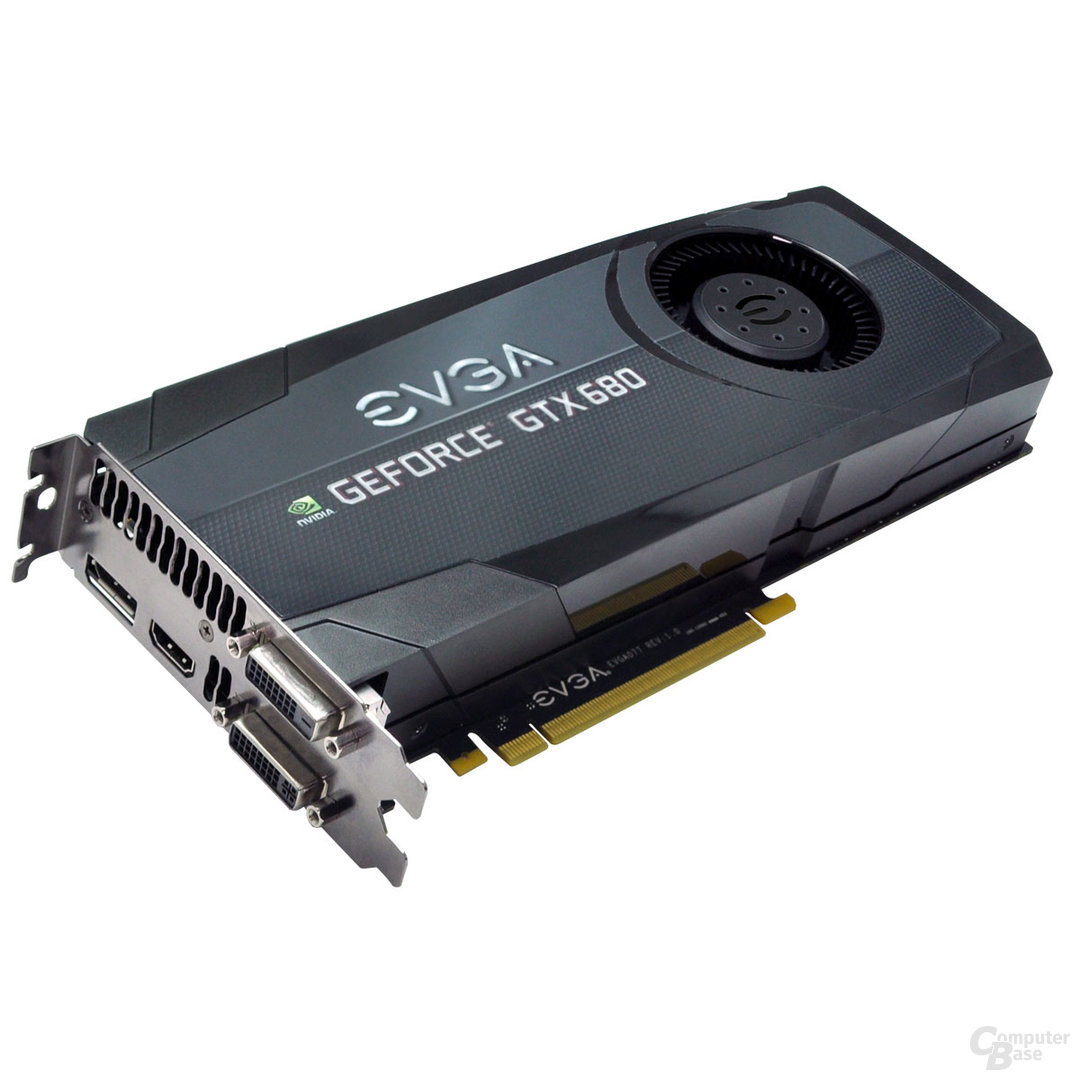 EVGA GeForce GTX 680 Superclocked (+)