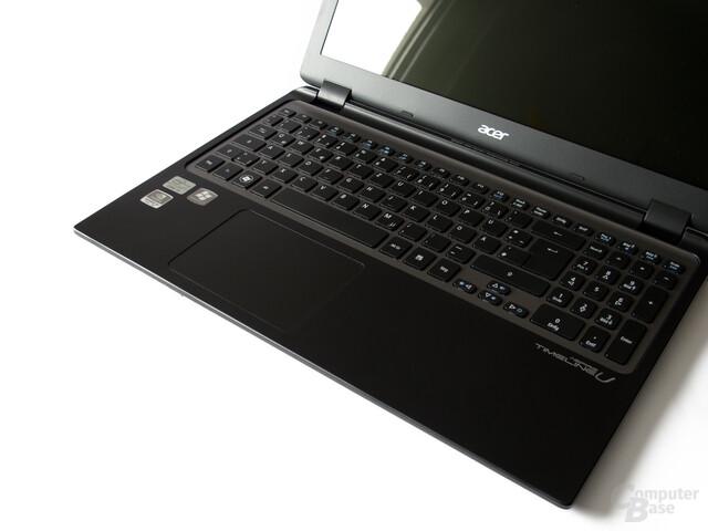 Acer Timeline Ultra M3: Tastatur