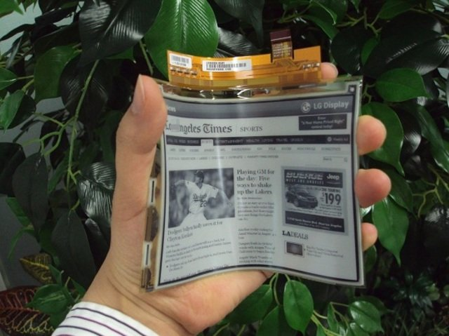 Flexibles E-Ink-Display