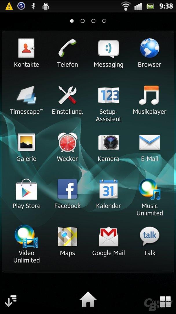 Installierte Apps