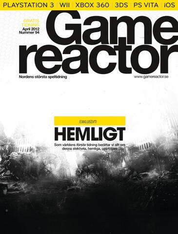 """Cover der 94. Ausgabe von """"Gamereactor"""""""