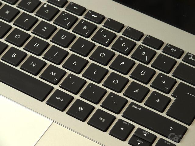 Sehr gute Tastatur