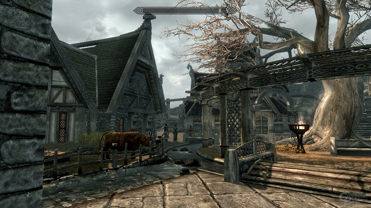 Intel Ivy-Bridge - Skyrim 1xAA