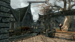 Intel Sandy-Bridge - Skyrim 1xAA