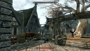 Intel Sandy-Bridge - Skyrim 4xAA