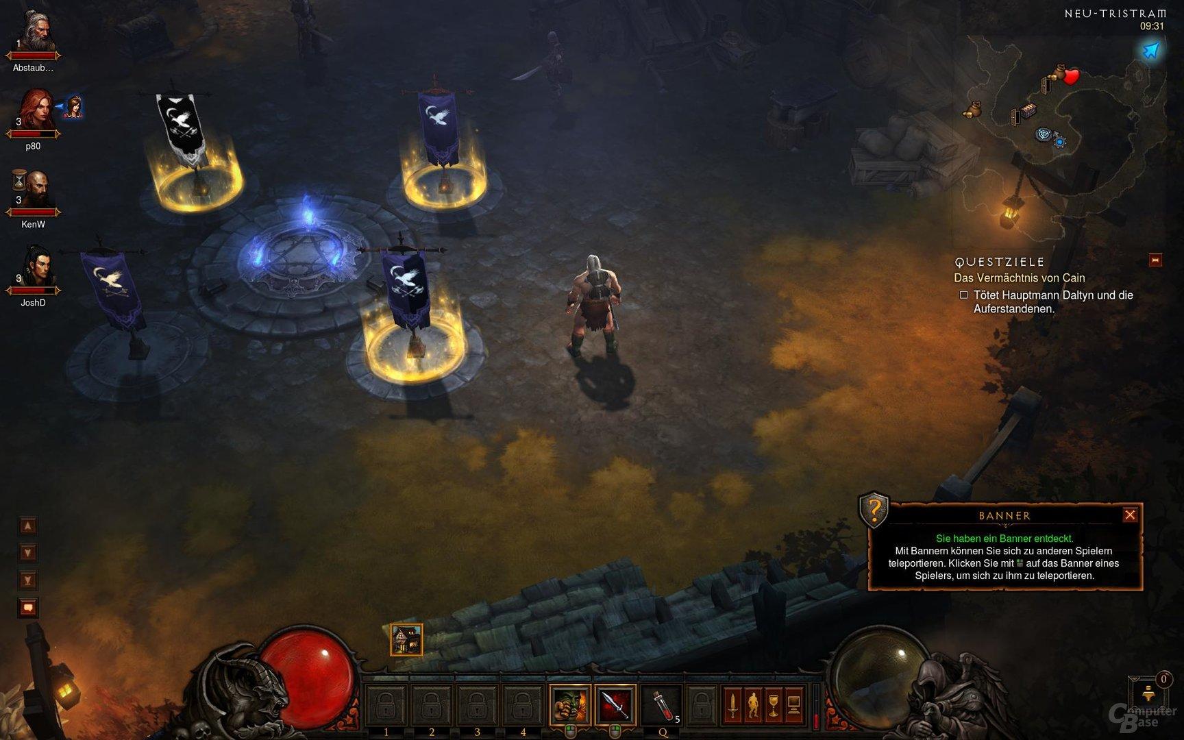 Diablo III – Coop-Teleporter