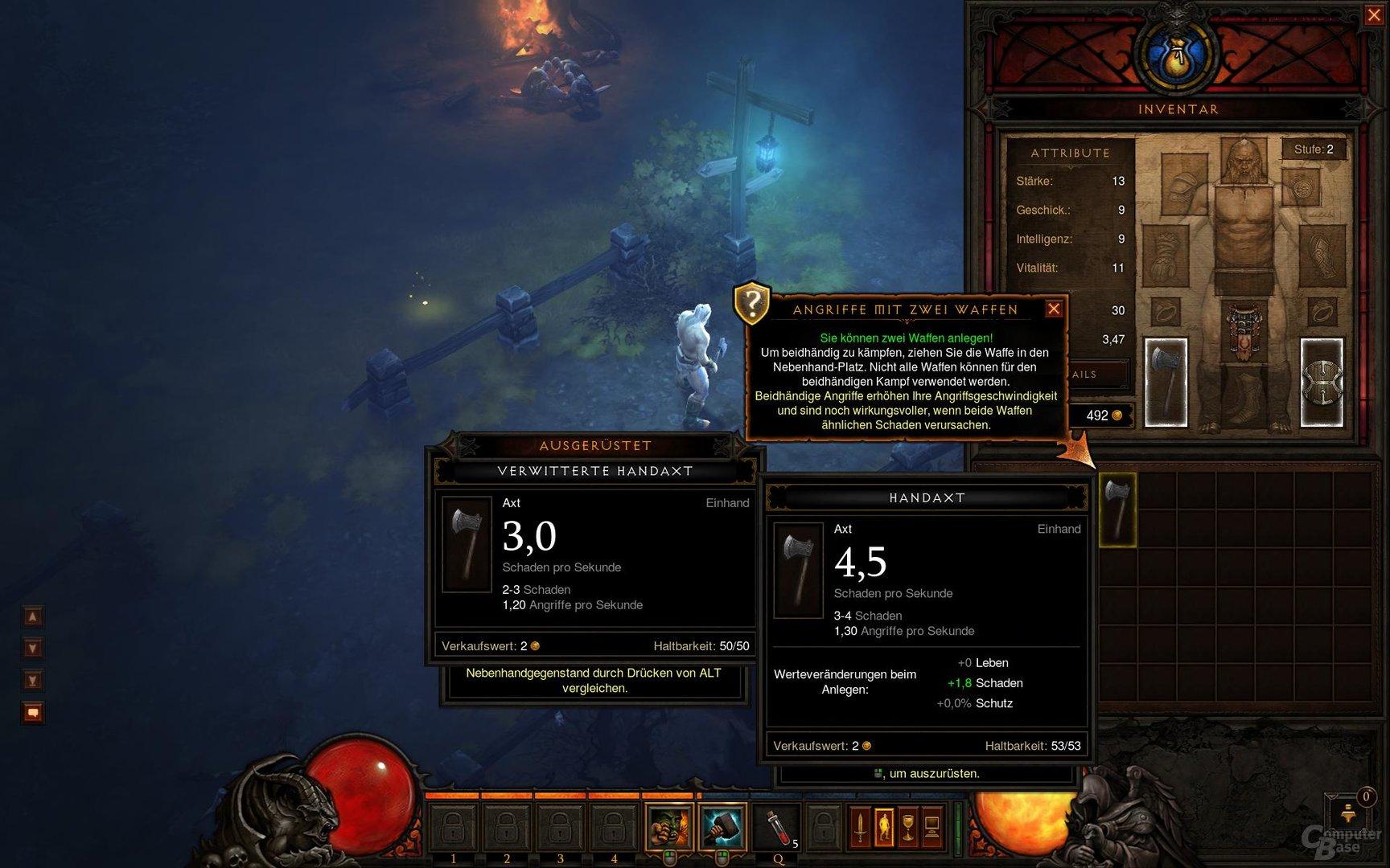 Diablo III – Komfortoptionen