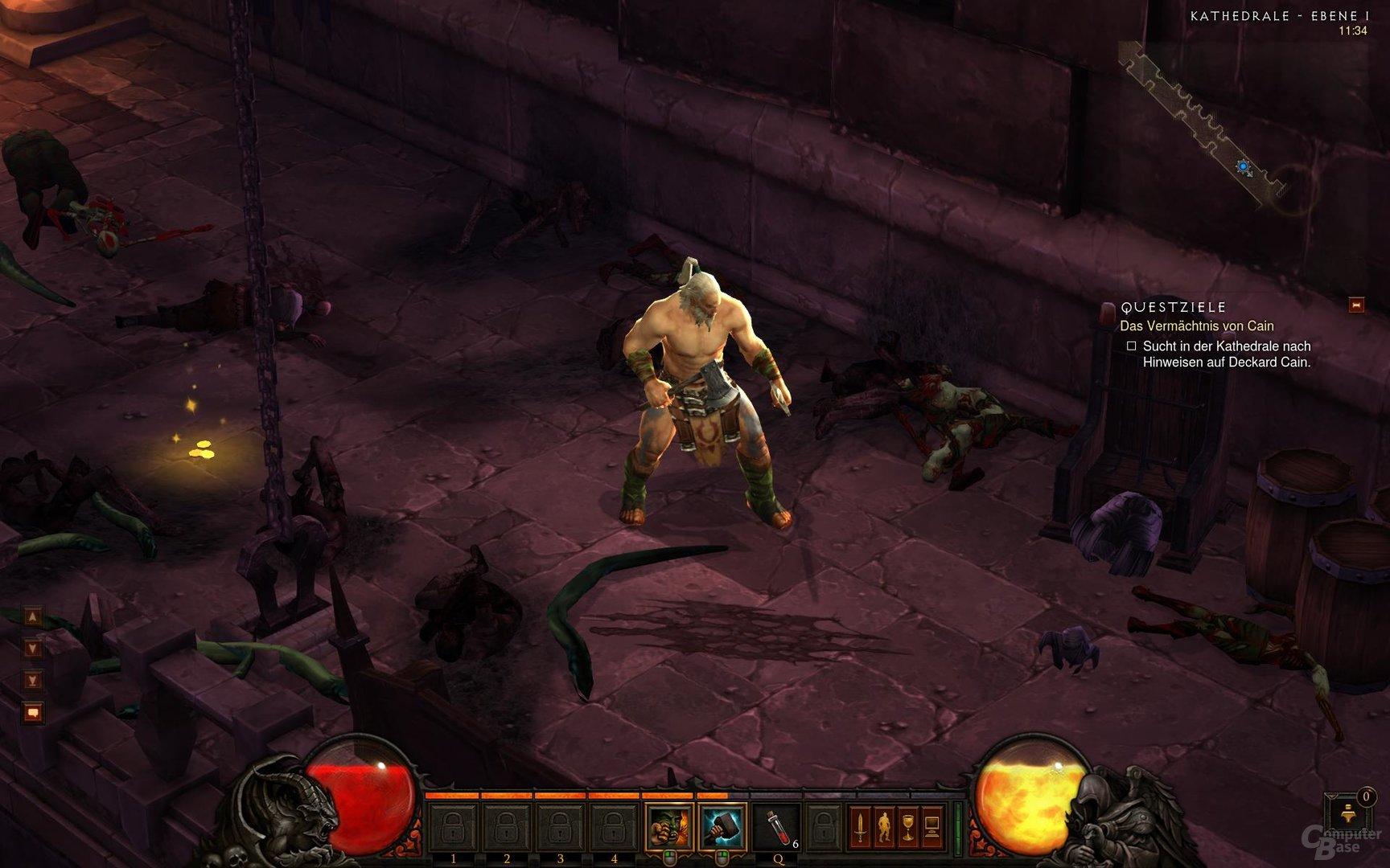 Diablo III Detailreichere Models und Levels