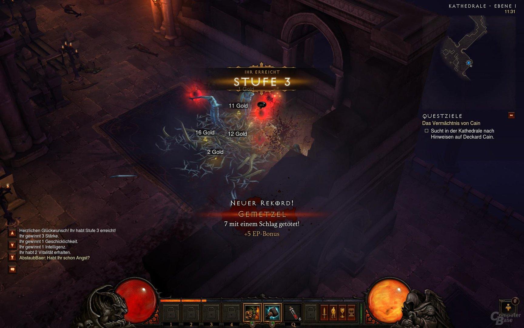 Diablo III – Levelup