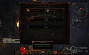 Diablo III – Fertigkeiten-Bildschirm