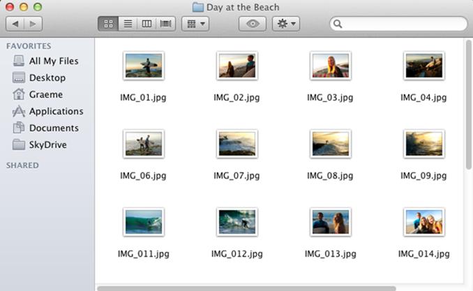 SkyDrive für Mac OS X