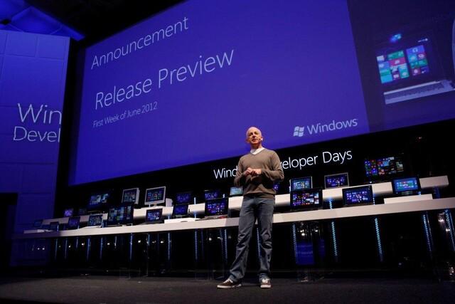 Ankündigung der Windows 8 Release Preview