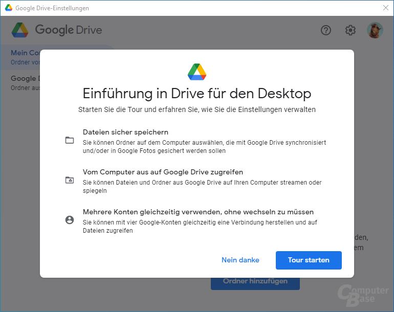 Google Drive – Einrichtung