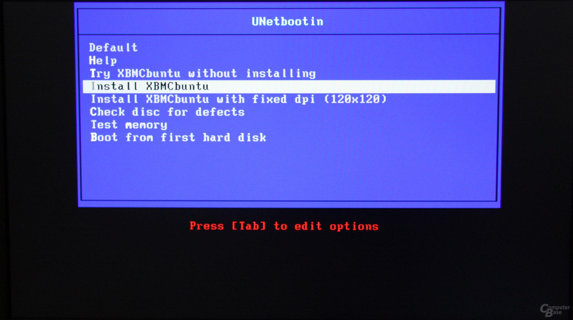 XBMCbuntu auf der Zbox nano XS AD11 Plus