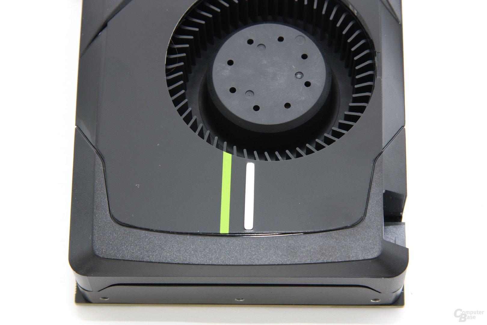 GeForce GTX 680 von oben