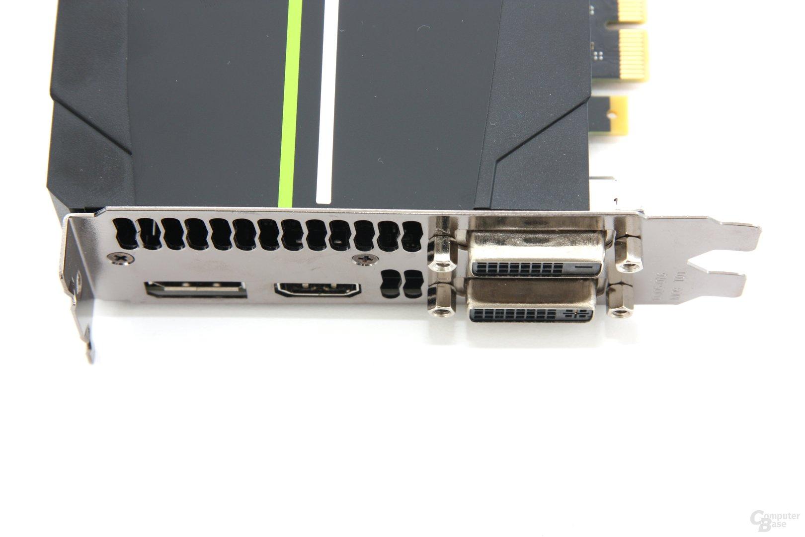 GeForce GTX 680 Anschlüsse