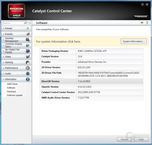 AMD Catalyst 12.4 WHQL