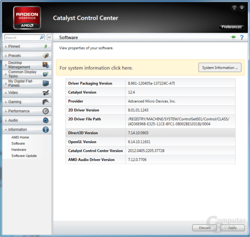 AMD Catalyst 12.4 WHQL