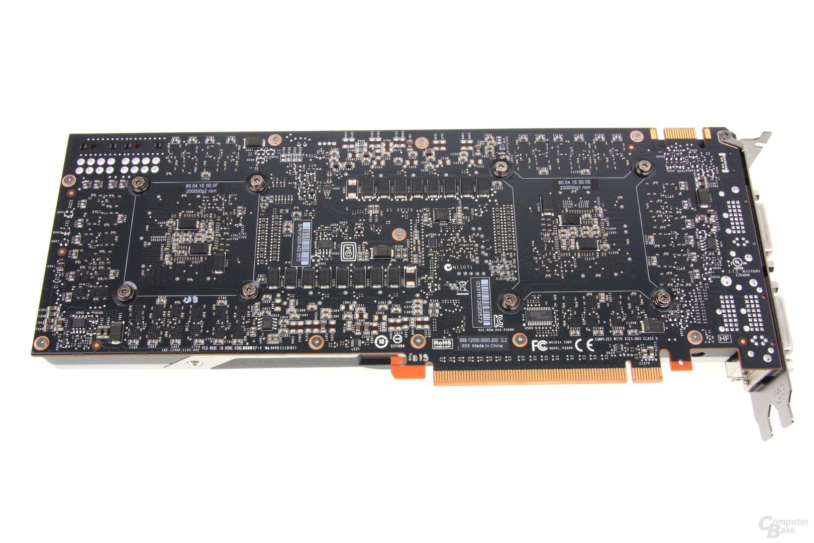GeForce GTX 690 Rückseite
