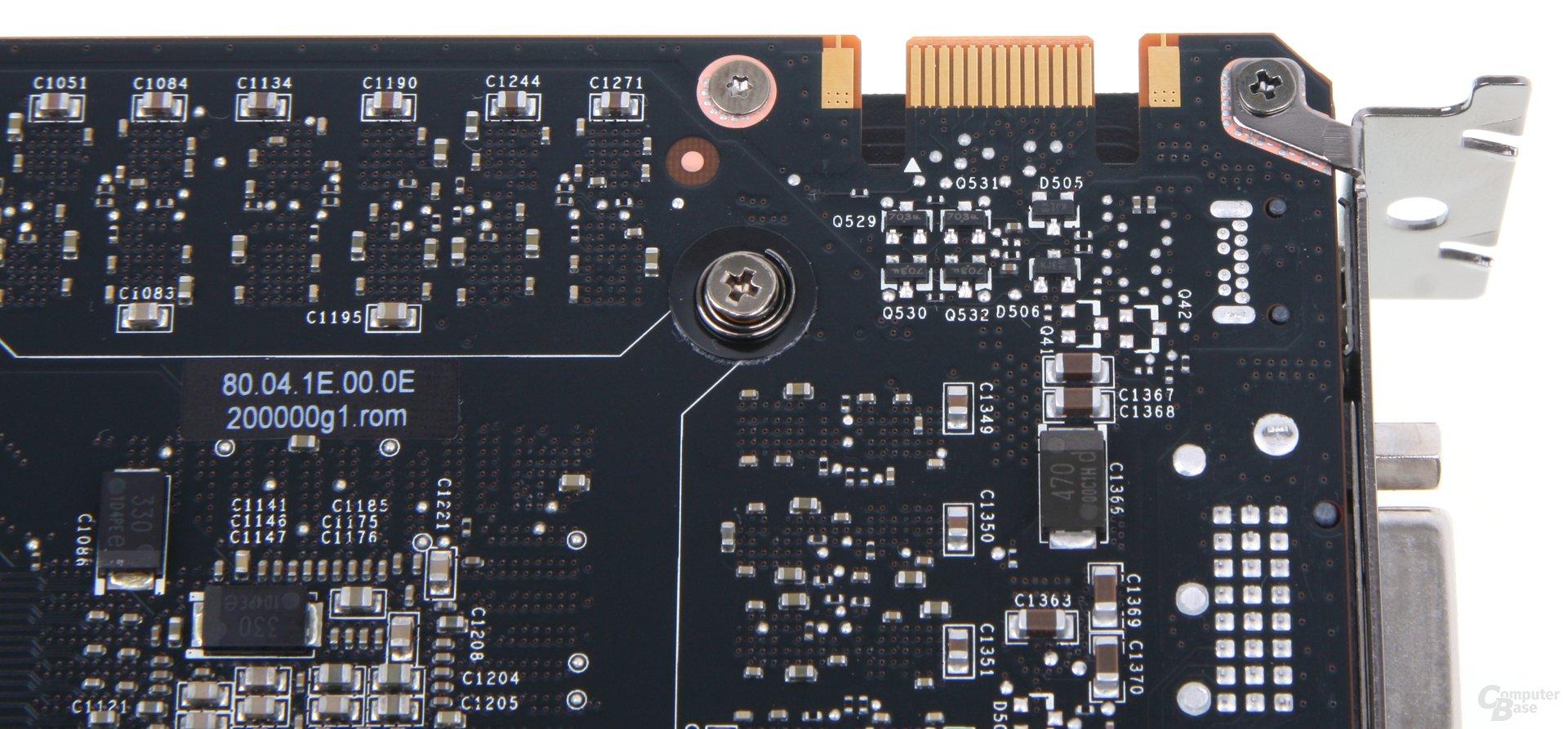 GeForce GTX 690 SLI-Anschluss