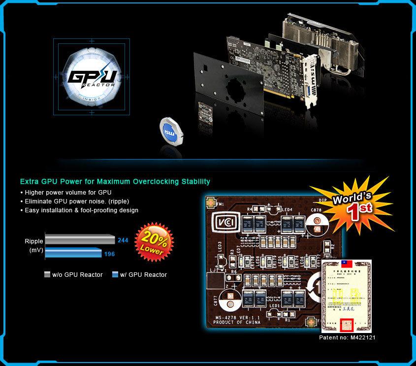 "MSI ""GPU Reactor"""