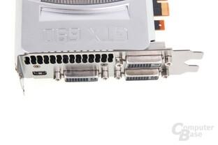 GeForce GTX 690 Anschlüsse