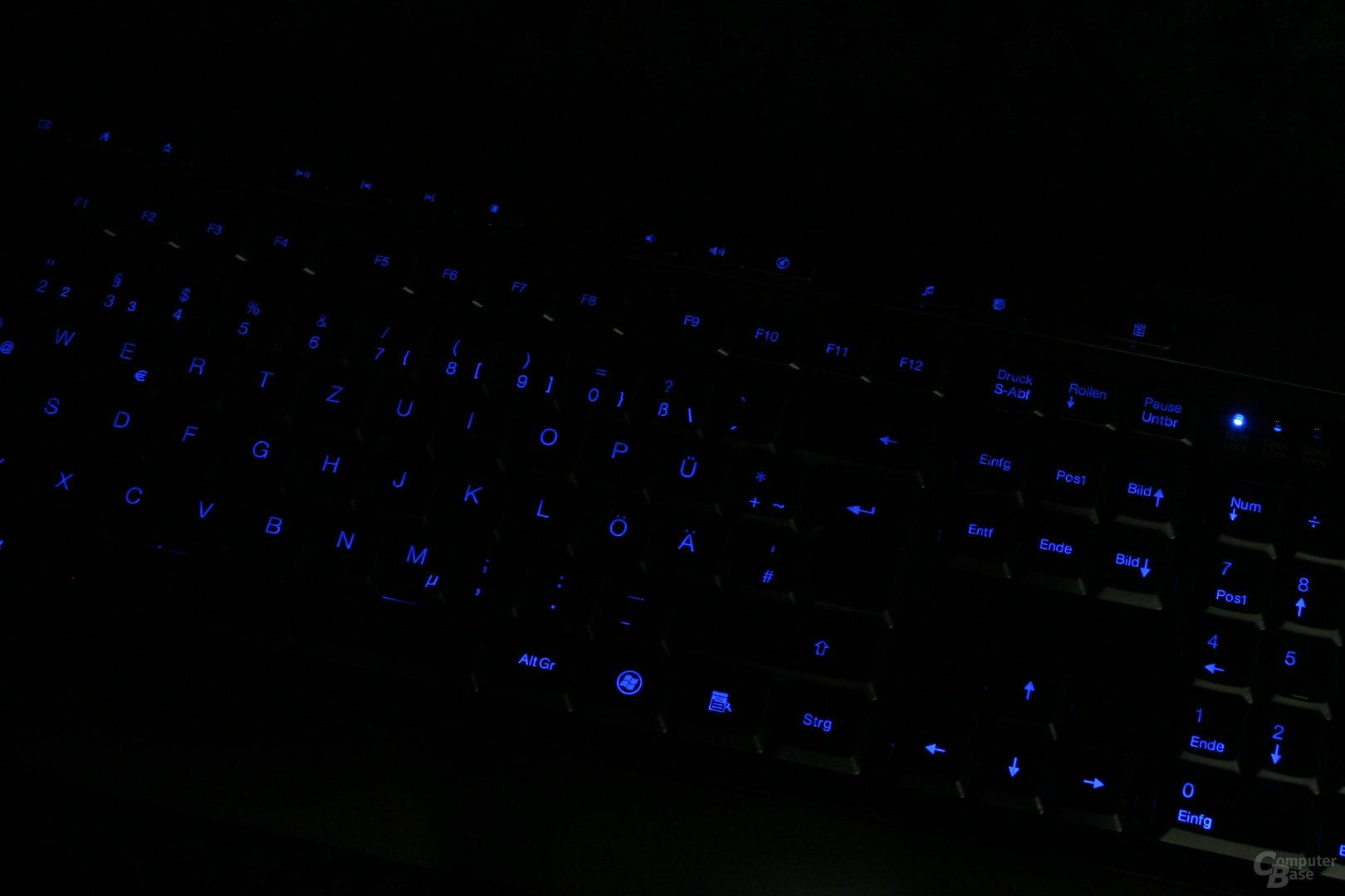 Sharkoon Nightwriter - Beleuchtung