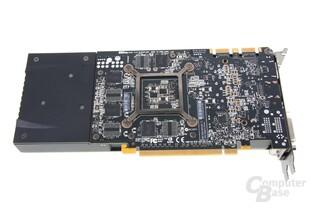 GeForce GTX 670 Rückseite
