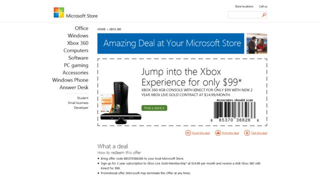 Xbox 360 mit Laufzeitvertrag