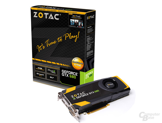 Zotac GeForce GTX 680 4 GByte