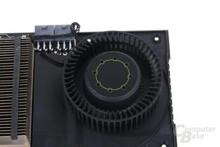 GeForce GTX 670 Lüfter ohne Mantel