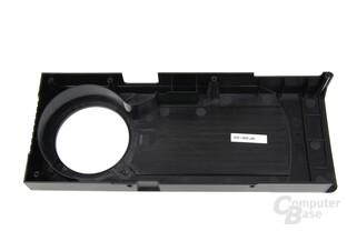 GeForce GTX 670 Mantelrückseite