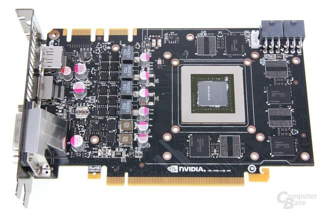 GeForce GTX 670 ohne Kühler